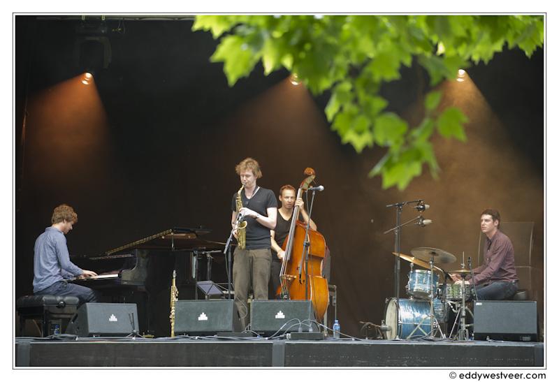 Citaten Quartett : Kytecrash publiekstrekker op international jazzfestival